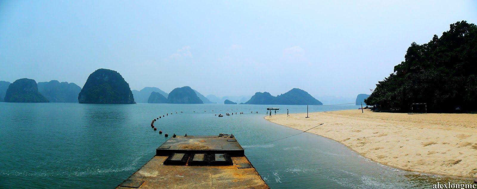 Bãi biển trên đảo ti tốp
