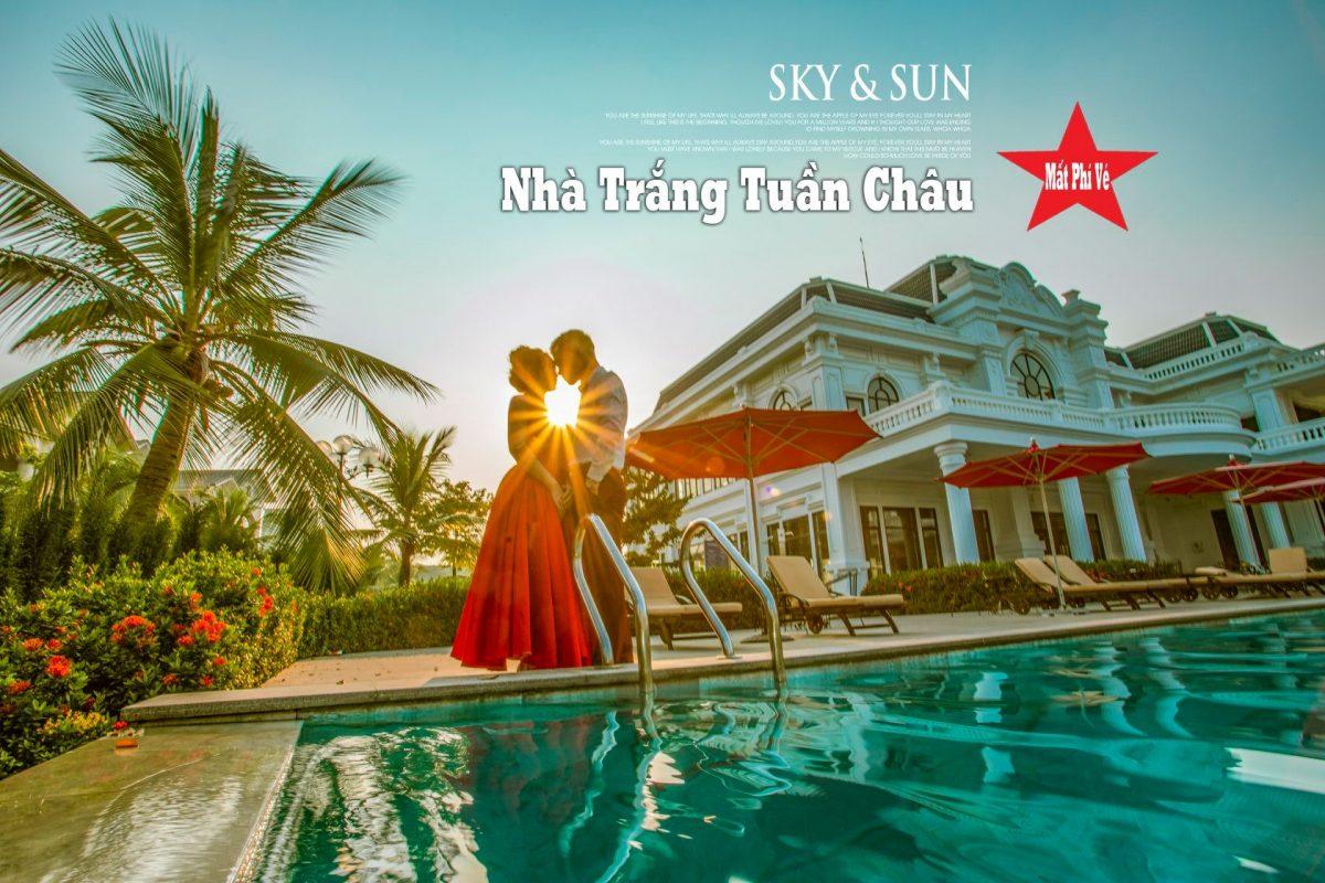 Cặp đôi chụp ảnh cưới tại Nhà trắng đảo Tuần Châu