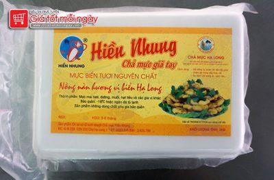 Chả mực Hiền Nhung đóng gói hộp xốp loại 1kg
