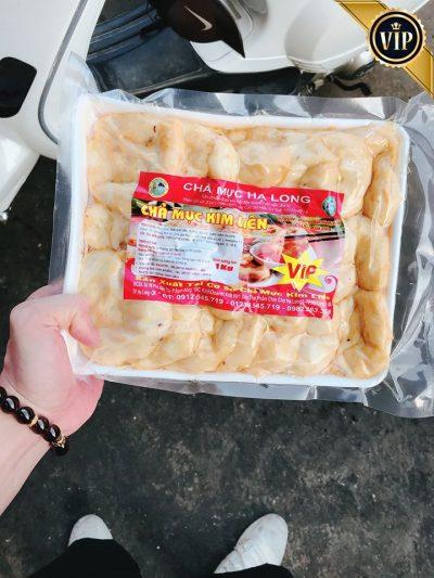 Túi chả mực Kim Liên loại hút chân không và đóng gói 1kg