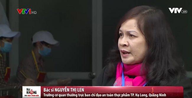 Đại diện trung tâm kiểm soát Hạ Long trả lời phỏng vấn