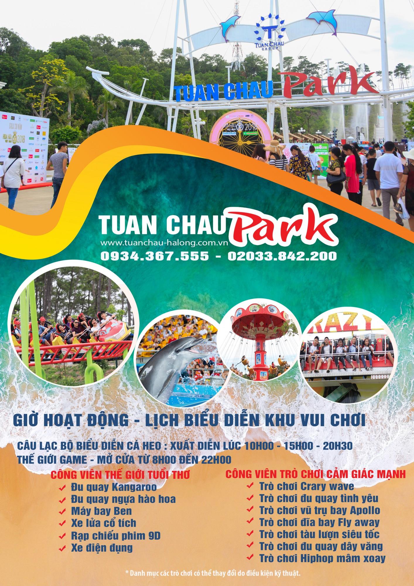 Poster Công viên Tuần Châu