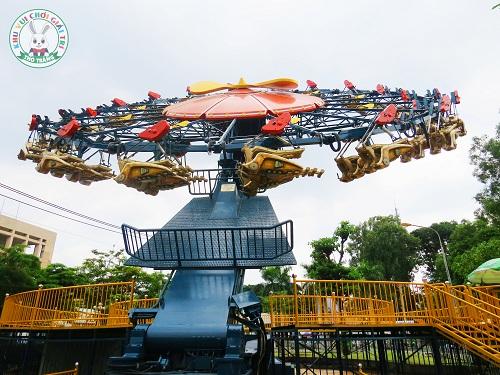 Trò chơi Fly away trong Tuần Châu Park