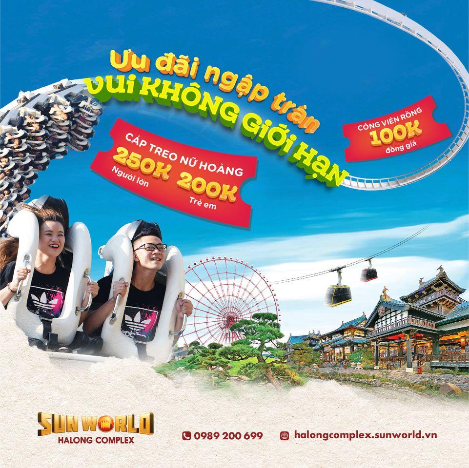 Poster quảng cáo Sun World từ 03/10/2020