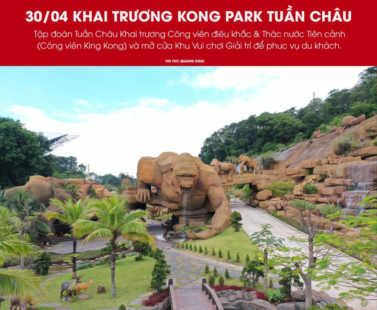 Khai trương công viên Kong Park