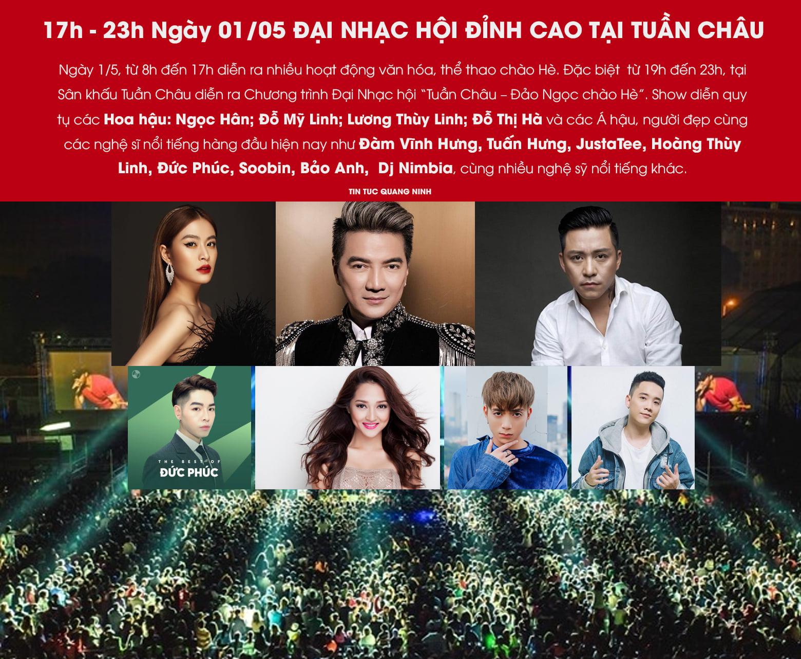 Lễ hội âm nhạc ở Tuần Châu